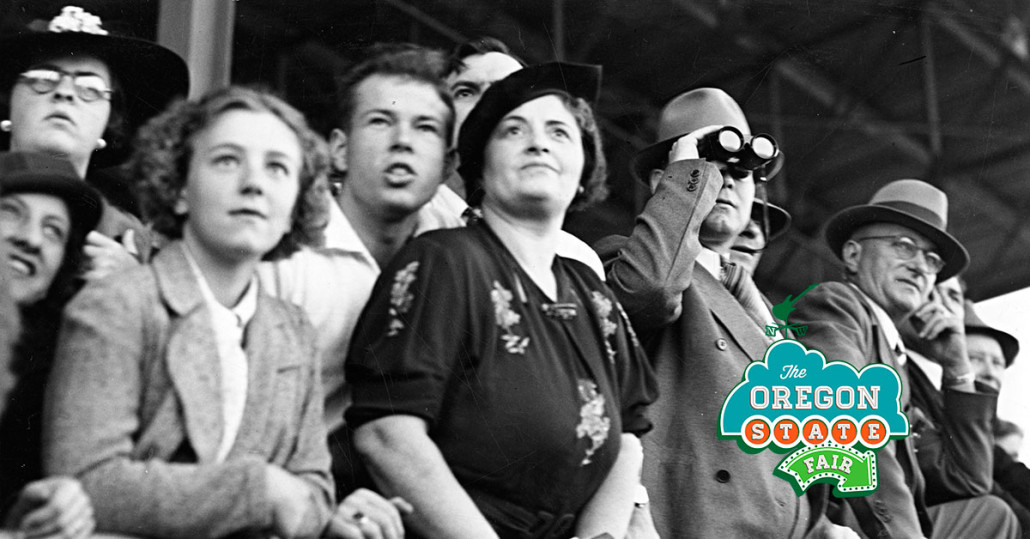 Historic crowd shot at the Oregon State Fair