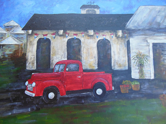 red-truck-painting-party